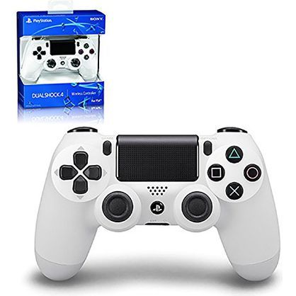 Sony CUH-ZCT1U 03 Dualshock 4 Controller, Glacier White (PS4)