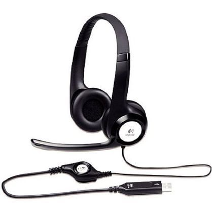Logitech LOG981000014 Inc H390 Usb Headset with Noise-Canceling Headphones
