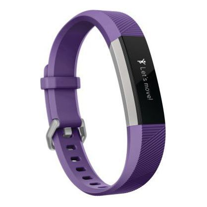 Fitbit FB411SRPM Ace Activity Tracker for Kids 8+, Power Purple/Stainless Steel One Size