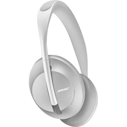 Bose 794297-0300 Noise Cancelling Wireless Bluetooth Headphones 700, with Alexa Voice Control, Silver
