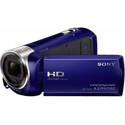 Sony HDR-CX240/L Video Camera with 2.7-Inch LCD (Blue)