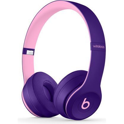 Beats by Dr. Dre Solo3 Wireless Pop Violet Beats Pop Collection On Ear Headphones MRRJ2LL/A