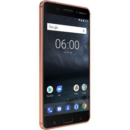 "Nokia Mobile N6C Nokia 6, Android 8.0, 32 GB, 16MP, Dual SIM, 5.5"", Standard Version, Copper"