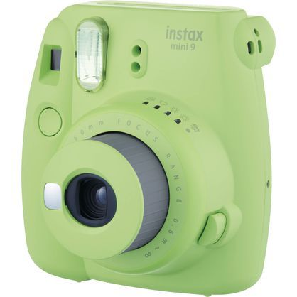 Fujifilm 16550655 Instax Mini 9 Instant Camera - Lime Green