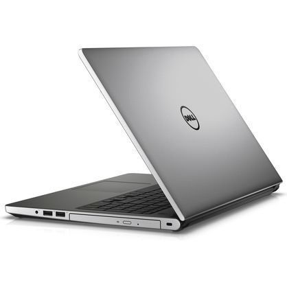 "Dell I5555-2843SLV-PUS Inspiron 15.6"" HD A10-8700P 1.8GHz 12GB RAM 1TB HDD Win 10 Home Silver"
