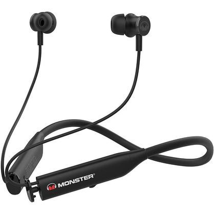 Monster MNFLEX BLK Flex Active Noise Canceling Bluetooth Headphones