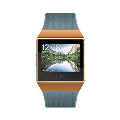Fitbit FB503CPBU Ionic Smartwatch Slate Blue/Orange