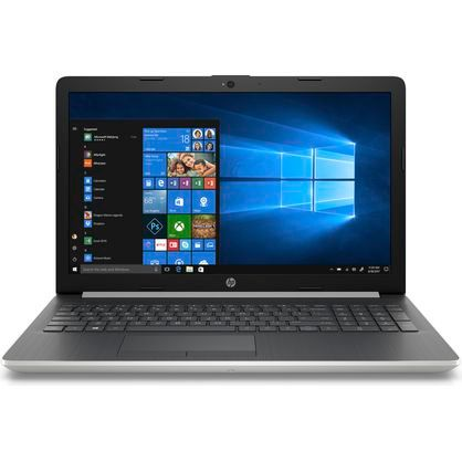 "HP 15-da0032wm Notebook 15.6"" HD i3-8130U 2.2GHz 4GB RAM 1TB HDD Win 10 Home Silver"
