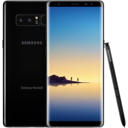 Samsung SMN950UZKV Galaxy Note 8 64GB Midnight Black Verizon