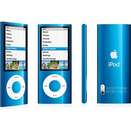 Apple iPod Nano 5th Generation 16GB Blue MC066LL/A