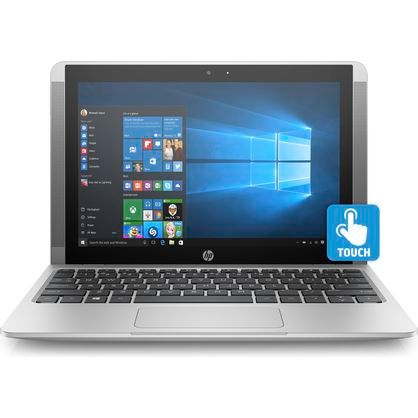 "HP 10-p018wm Notebook x2 10.1"" WXGA Touchscreen x5-Z8350 1.44GHz 4GB RAM 64GB eMMC Win 10 Home Silver"