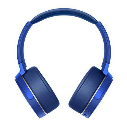 Sony MDR-XB950B1/L Extra Bass Wireless Headphones with App Control, Blue