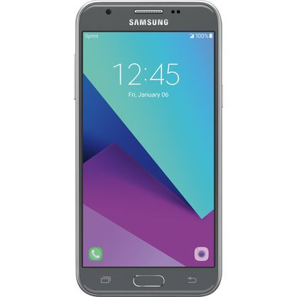 Boost Mobile Samsung J3 Emerge 16GB Prepaid Smartphone, gray