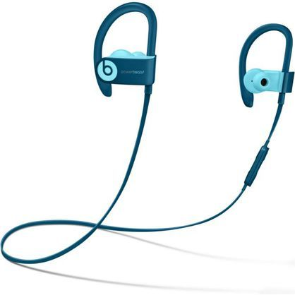 Beats by Dr. Dre Powerbeats3 Wireless Pop Blue Beats Pop Collection In Ear Headphones MRET2LL/A