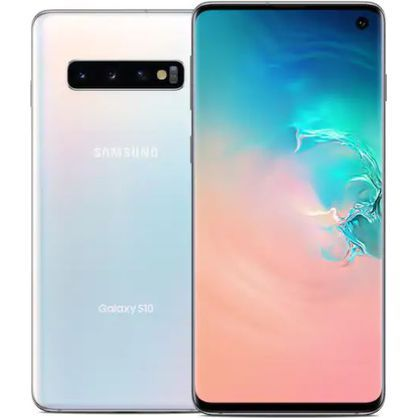 "Samsung Galaxy S10 6.1"" 128GB White LTE Cellular Sprint SPHG973UWHT"