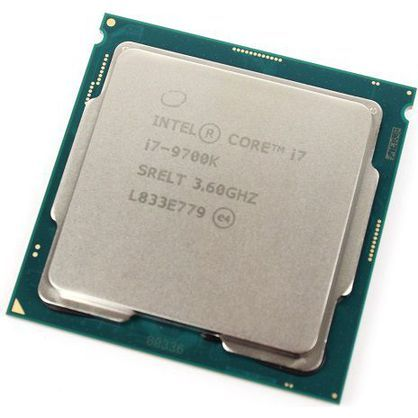 intel BX80684I79700K Core i7-9700K Desktop Processor 8 Cores 4.9 GHz Turbo Unlocked LGA1151 300 Series 95W