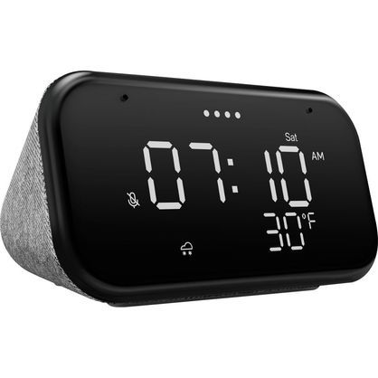 Lenovo ZA740005US Smart Clock Essential - Soft Touch Gray
