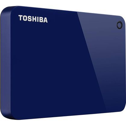 Toshiba HDTC910XL3AA Canvio Advance 1TB Portable External Hard Drive USB 3.0, Blue