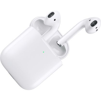 Apple AirPods Generation 2 with Wireless Charging Case MV7N2BE/A