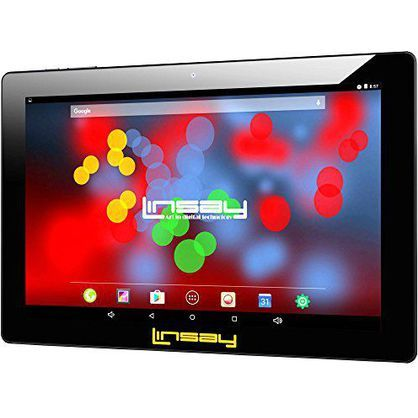 "Linsay F10XIPS 10.1"" 1280x800 IPS Touchscreen 16GB Tablet Android 6.1"