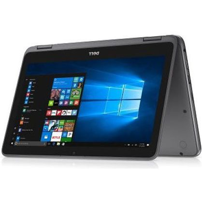 "Dell i3168-C548GRY-PUS 2-IN-1 11.6"" HD Touchscreen N3060 1.6GHz 4GB RAM 32GB eMMC Win 10 Home Grey"