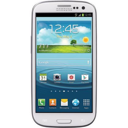 Samsung STSAS960CWTP Galaxy S3 White (Straight Talk)