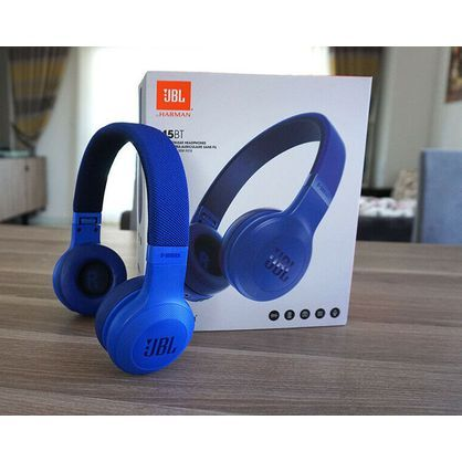 JBL JBLE45BTBLU Bluetooth On-Ear Headphones (Blue)