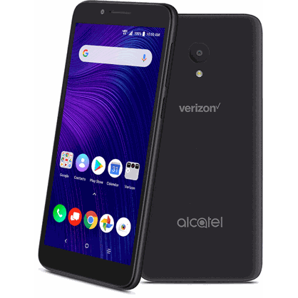 Alcatel 5059S AVALON with 16GB Memory Prepaid Cell Phone Suede Gray - Verizon