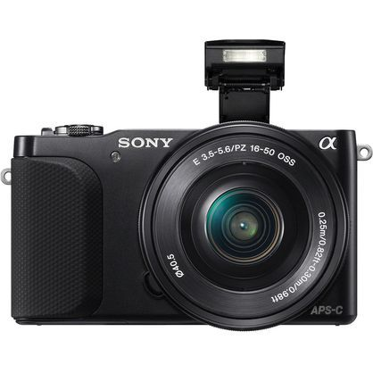 Sony Alpha NEX-3N NEX3NL/B 16.1 MP Digital Camera with 16-50mm f/3.5-5.6 Lens
