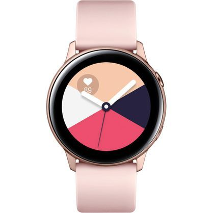 Samsung SM-R500NZDCXAR Galaxy Bluetooth Smart Watch Active 40mm - Rose Gold