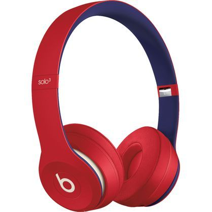 Beats by Dr. Dre Solo3 Wireless Club Red Beats Club Collection On Ear Headphones MV8T2LL/A