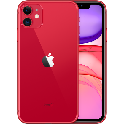 Apple iPhone 11 128GB (PRODUCT) Red LTE Cellular T-Mobile MWJN2LL/A