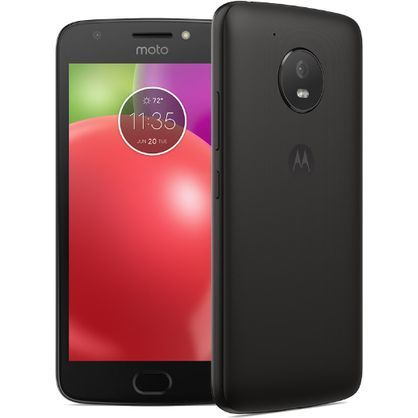 Motorola 01150NARTL 5-In Moto E4 4G LTE 1.4GHz 16GB, Black