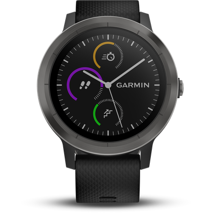 Garmin 010-01769-11 Vivoactive 3 Smart Activity Tracker Black / Slate