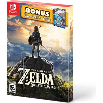 Nintendo The Legend of Zelda: Breath of the Wild Starter Pack (Nintendo Switch)