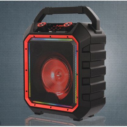Blackweb BWD19AAS10 Portable 40-Watt Bluetooth Party Speaker, Black - Easy to Carry