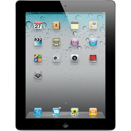 Apple iPad 2nd Gen 16GB Black Wi-Fi MC769C/A