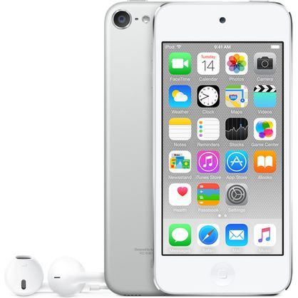 Apple iPod Touch 6th Generation 32GB Silver MKHX2LL/A