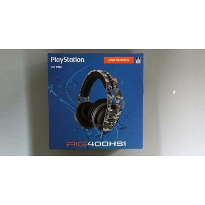 Plantronics 206808-60 Rig 400HS Camo Stereo Gaming Headset for PlayStation 4