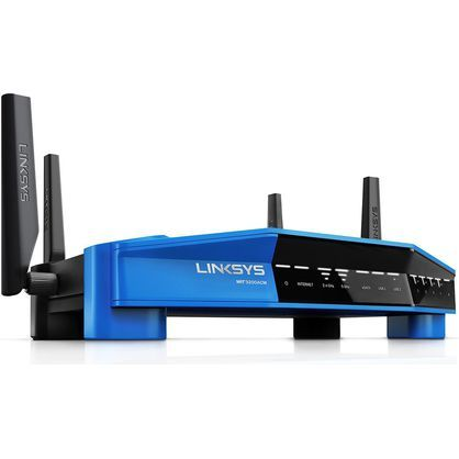 Linksys WRT3200ACMA-4T Linksys Wi-Fi Router with Bonus AC600 USB Adapter